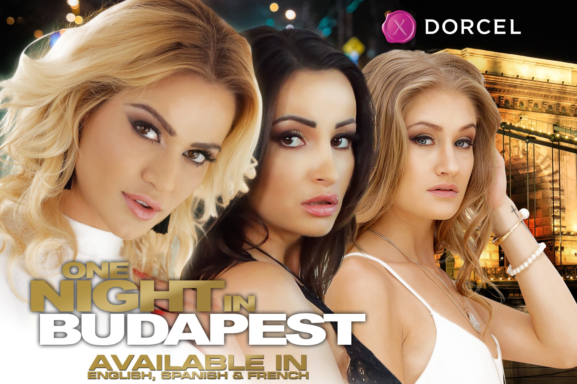 For all our American subscribers who'd need a getaway, Dorcel proposes an exclusive stunt over the big premiere release of #OneNightInBudapest in Eng…